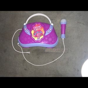 Girls Trolls Microphone Kareoke Toy